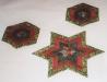 Thumbs Stern-mithexagon in Weihnachten