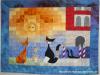 Thumbs Katzen In Vendig in Wandbehänge und Decken