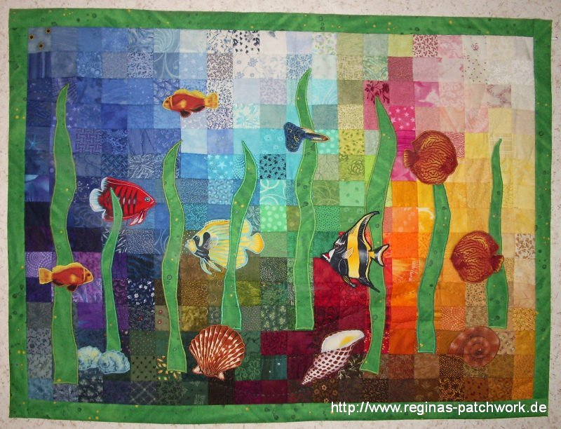 Patchwork wandbehang jennies blog patchwork anleitung - Wandbehang patchwork ...